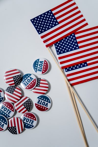 voting, flag, election