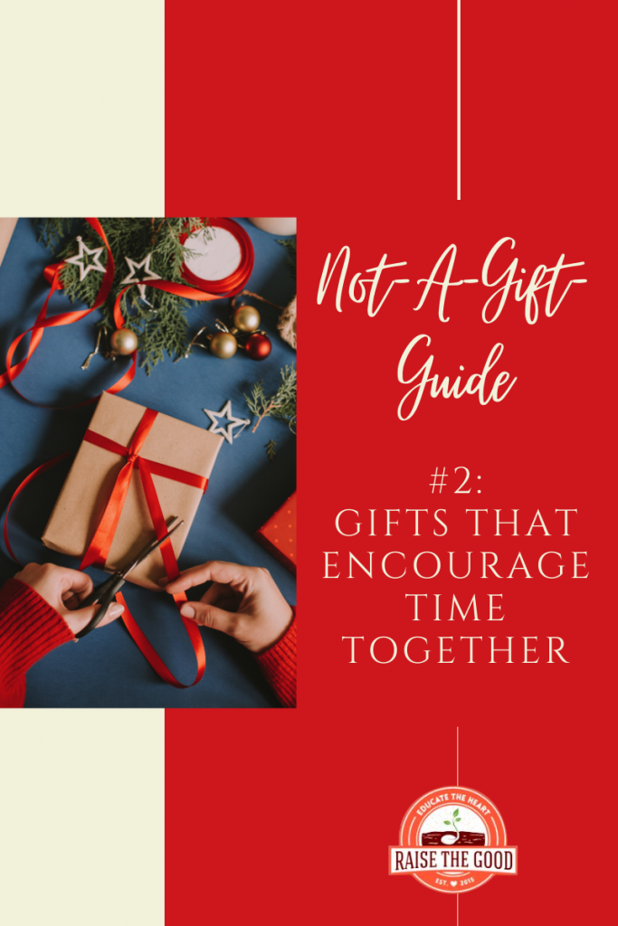 gifts and title of blog post